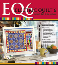EQ6 - Electric Quilt software