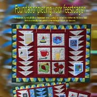 foundation piecing voor feestdagen