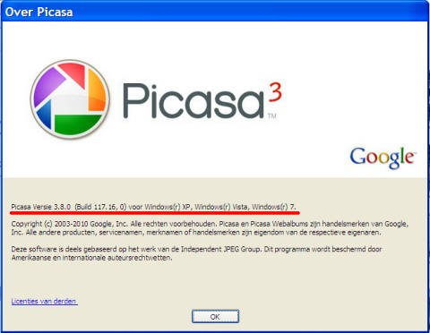 Download Picasa 3