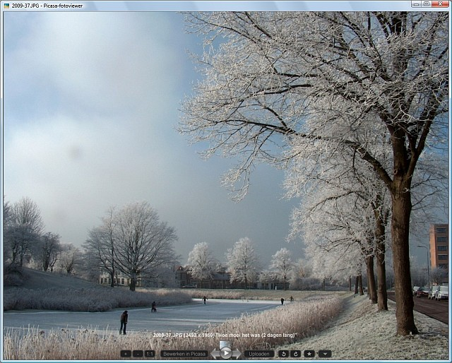 picasa3 snelgids viewer 5 (viewervenster)