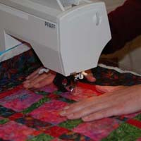 Quilten op de naaimachine workshop