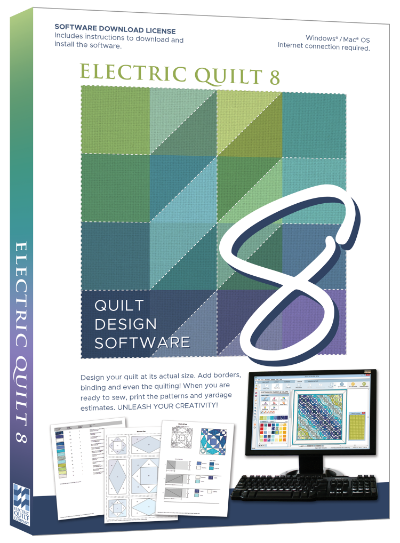EQ8 - Electric Quilt 8 bestellen - EQ8 software