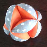 Gratis patroon Amish Puzzle Ball