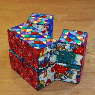Gratis patroon kubuspuzzel