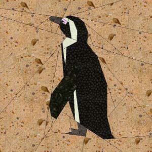 Pinguin - gratis download patroon