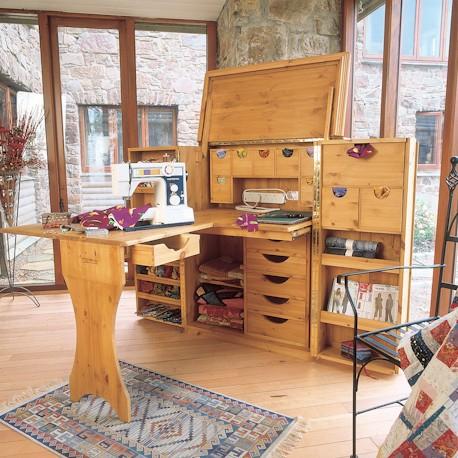 Kast voor quilten en patchwork