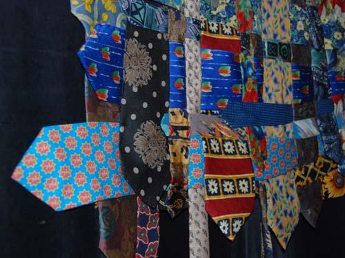ParnasSys stropdas in quilt