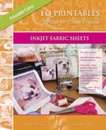 Printables - inktjet fabric sheets