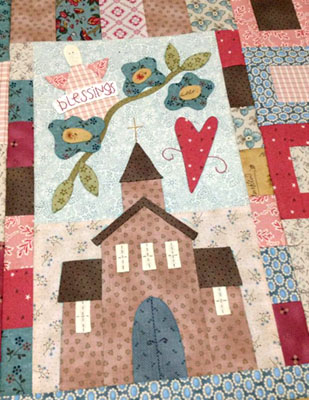 Bluebird Lane block of the month